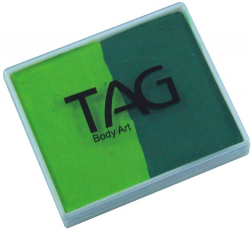 SP0506 TAG Regular Light Green and Medium Green Split Cake 50 g