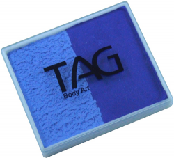 SP0414 TAG Regular Powder Blue and Royal Blue Split Cake 50 g
