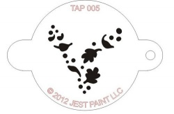 TAP005 Face Painting Stencil Wind Dust