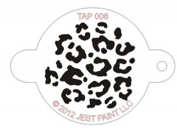 TAP006 Face Painting Stencil Animal Print