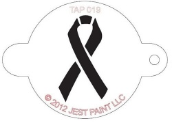 TAP019 Face Painting Stencil Ribbon