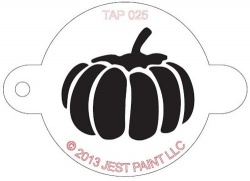 TAP025 Face Painting Stencil Pumpkin
