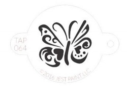 TAP064 Face Painting Stencil Ornate Butterfly