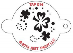 TAP014 Face Painting Stencil Shamrock