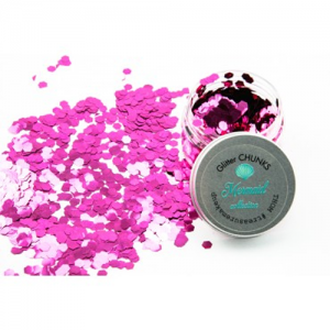 Treasure House Glitter Chunks Mermaid Coralina 30 g