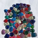Mixed 400g Pack Rhinestsone Gems