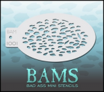 BAM1001 Bad Ass Mini Stencils