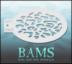 BAM1002 Bad Ass Mini Stencils