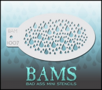 BAM1007 Bad Ass Mini Stencils