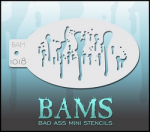 BAM1018 Bad Ass Mini Stencils
