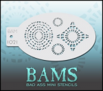 BAM1021 Bad Ass Mini Stencils