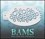 BAM1022 Bad Ass Mini Stencils