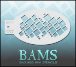 BAM1027 Bad Ass Mini Stencils