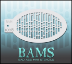 BAM1028 Bad Ass Mini Stencils