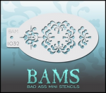 BAM1032 Bad Ass Mini Stencils