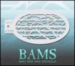 BAM1033 Bad Ass Mini Stencils