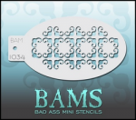 BAM1034 Bad Ass Mini Stencils