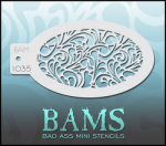 BAM1035 Bad Ass Mini Stencils