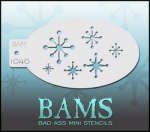 BAM1040 Bad Ass Mini Stencils