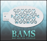 BAM1044 Bad Ass Mini Stencils