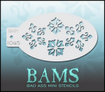 BAM1045 Bad Ass Mini Stencils