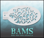BAM2001 Bad Ass Mini Stencils