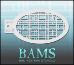 BAM2018 Bad Ass Mini Stencils