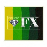 RS50-8 Diamond FX Green Carpet Split Cake 50 g