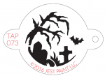 TAP073 Face Painting Stencil Halloween Night