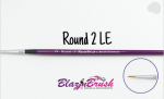 Blazin Brush Round Number 2 Limited Edition by Marcela Bustamante