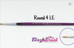 Blazin Brush Round Number 4 Limited Edition by Marcela Bustamante