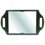 Bond Street Back Mirror Black (Glass)