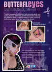 Graffiti Eyes Stencils Butterfleyes Stencil Kit