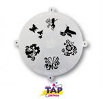 TAPG103 Galaxy Face Painting Stencil Fairyland