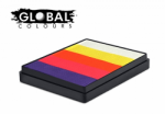 Global Colours Body Art Rainbow Cake Caribbean 50 g