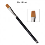 Global Colours Body Art Flat Brush 1/2''