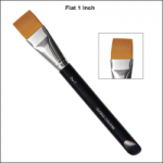 Global Colours Body Art Flat Brush 1''