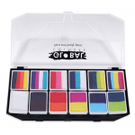 Global Colours Body Art Fun Stroke Carnival Kit 12 x 10 g