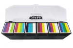 Global Colours Body Art Fun Stroke Palette Colour Punch 6 x 10 g