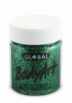 Global Body Art Liquid Face Paint Glitter Green 45 ml