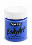 Global Body Art Liquid Face Paint Standard Deep Blue 45 ml