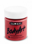 Global Body Art Liquid Face Paint Standard Deep Red 45 ml