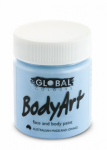 Global Body Art Liquid Face Paint Standard Light Blue 45 ml