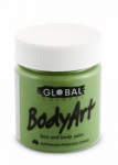 Global Body Art Liquid Face Paint Standard Green Oxide 45 ml