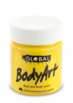 Global Body Art Liquid Face Paint Standard Yellow 45 ml