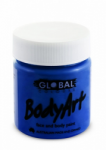 Global Body Art Liquid Face Paint Standard Ultra Blue 45 ml