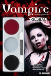Global Colours Body Art Vampire FX Palette 15 g