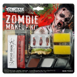 Global Colours Body Art Zombie Makeup Kit