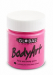Global Body Art Liquid Face Paint Fluoro Pink 45 ml