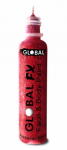 Global Colours Body Art Glitter FX Red 36 ml